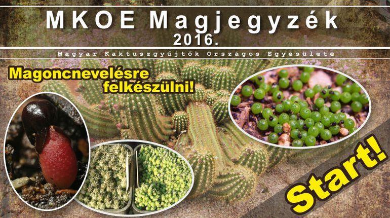 MKOE Magjegyzék 2016.